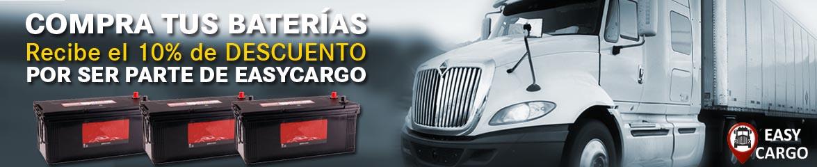 Descuento de Baterias para camiones Ecuador